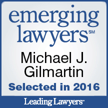 Emerging Lawyer 2016 - Gilmartin Legal - La Grange Lawyer