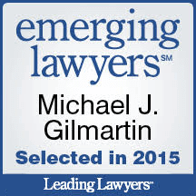 Emerging Lawyer 2016 - Gilmartin Legal - La Grange Attorneys